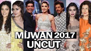 Mijwan 2017 Fashion Show | Full HD Video | Shahrukh Khan, Anushka, Shabana Azmi, Manish Malhotra