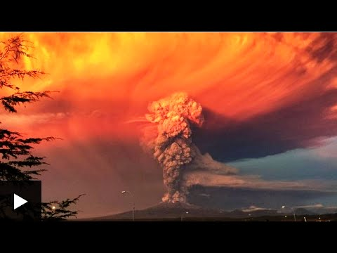 Chile's Calbuco Volcano Erupts for first time in 40 years News Video