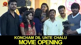 Koncham Dil Unte Chalu Movie Opening || 2017 Latest Telugu Movies