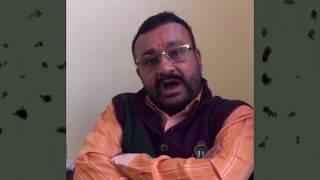 Vimalbhai Vaidya explains the political situation in Mehsana