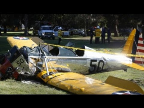 Harrison Ford injured in Los Angeles Plane Crash News Video