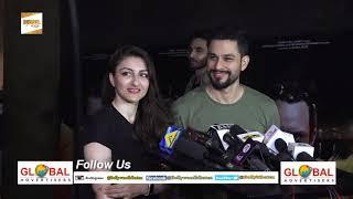 Saif Ali, Kareena Kapoor Khan, Shruti Haasan, Akshara Haasan, Imran Khan Kaalakaandi Movie Screening