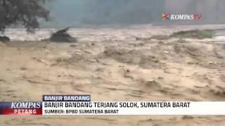 Banjir Bandang Terjang Solok, 4 Tewas