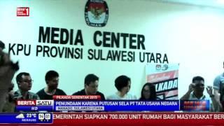 Akibat Putusan PTUN, Pilkada di Manado Ditunda