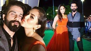 Shahid Kapoor & Mira Rajput DAZZLES At IIFA 2017 Green Carpet
