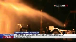 Depo Pertamina Terbakar
