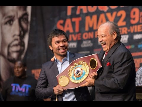 For the Mayweather Pacquiao Winner, a Bevy of Belts News Video