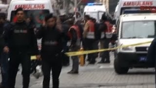 Raw- Suicide Bomb Attack in Istanbul Kills 5 News Video
