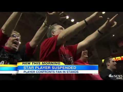 Oklahoma State Basketball Star Suspended for Shoving Fan News Video