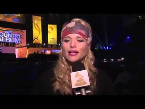 Grammy Awards 2014 Full Show - Miranda Lambert Excited To Perform With Billie Joe Armstrong GRAMMY