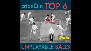 Top 6 Best Balls in cricket History