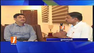 IAS Officer Jayesh Ranjan Face To Face On Safe Ride Special Campaign In Hyderabad | iNews