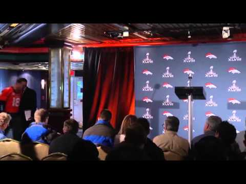 Peyton Talks 'ducks', Lynch Barely Speaks News Video