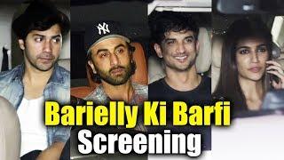 Bareilly Ki Barfi Movie Screening | Ranbir Kapoor, Varun Dhawan, Kriti Sanon, Sushant Singh Rajput