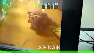 PM के उद्घाटन के दूसरे महीने चेनानी-नाशरी टनल में पहला बड़ा हादसा, CCTV में कैद