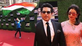 Sachin Tendulkar's Die-Hard Fan WAVES Indian Flag At Sachin A Billion Dreams Premiere