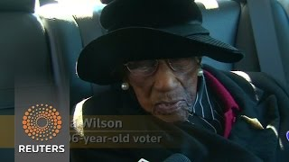 106-year-old voter casts vote in South Carolina News Video