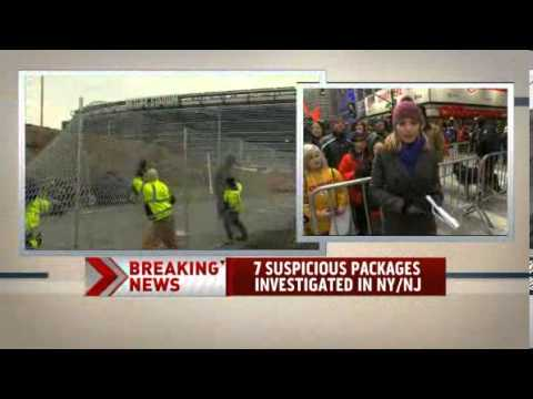 Suspicious packages found in NY and NJ News Video