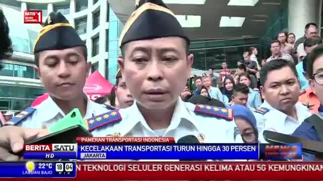 Angka Kecelakaan Transportasi Turun 30 Persen