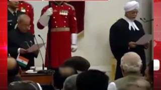 न्यायमूर्ति जगदीश सिंह खेहर बने सीजेआई (Justice JS Khehar sworn in as Chief Justice of India)