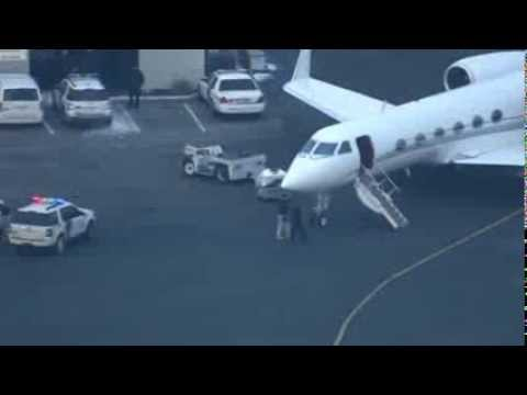 Bieber's plane allegedly searched for drugs News Video
