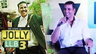 Akshay Kumar ANNOUNCES Jolly LLB 3 - Sequel To Jolly LLB 2