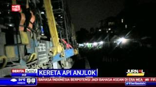 Kereta Pengangkut Air Mineral Anjlok, Rute Bogor-Sukabumi Normal