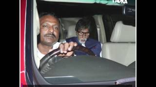 Bachchans spotted at Lilavati Hospital