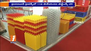 Minister Etela Rajender Launches 11th South Asia's Poultry Expo 2017 In Hitex | Hyderabad | iNews