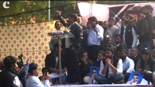 Kanhaiya Kumar speaks out against PM Modi, Dalit violence, and Reliance at the #HunkarRally