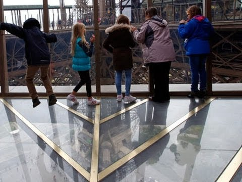 Glass Floor Gives Eiffel Tower Jaw-Dropping View News Video