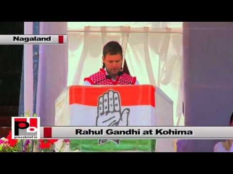 Rahul Gandhi at Nagaland - Youngsters are very dynamic