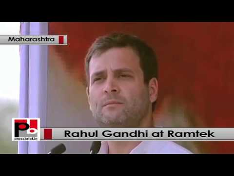 Rahul Gandhi strikes chord with people at Congress rally at Ramtek, Maharashtra