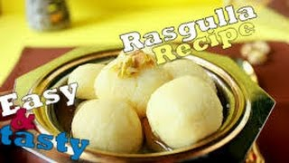 rasgulla easy recipe / bengali sponge rasgulla recipe
