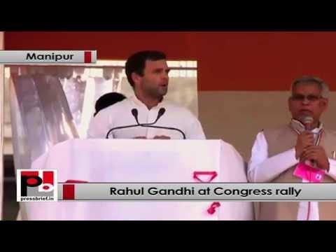 Rahul Gandhi- I believe in the people of Manipur