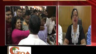 Change In Feast Fair Venue Of Our Lady Of Health At Cuncolim Creates Tension At Municipality Meeting