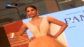 City Models Participates Fashion Show For Jewelry Models In Hyderabad | Metro Colours  | iNews