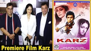 Rishi Kapoor & Subhash Ghai At Re Premiere Of Classic Film KARZ