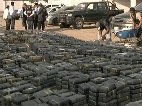 Raw- Over 3 Tons of Cocaine Seized in Peru News Video