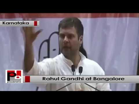 rahul gandhi speech in bangalore dating
