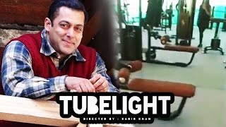 Salman Khan GYM On The Sets Of Tubelight - Must Watch