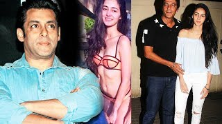 Salman To LAUNCH Chunky Pandey's Daughter Ananya In Bollywood