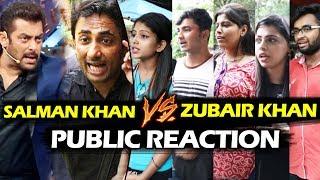 Salman Khan Vs Zubair Khan FIGHT - PUBLIC Reaction - Bigg Boss 11