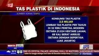 Indonesia Peringkat Kedua Produsen Sampah Plastik di Dunia