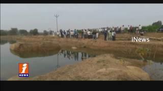 Two Children Dead In water Pond At Mujgi, Nirmal | Telangana | iNews