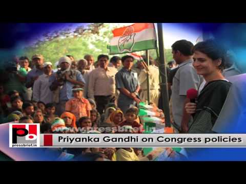 Charismatic Priyanka Gandhi Vadra - an inspiring young Congress campaigner