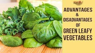 Advantages & Disadvantages Of Green Leafy Vegetables | Dr. Shehzad Ali