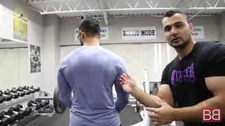 How to- One Arm Rows / Lawn Mower Rows for V SHAPED BACK! (Hindi / Punjabi)