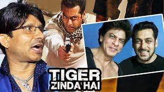KRK Declares Salman's Tiger Zinda Hai Super-Hit, Shahrukh-Salman's Selfie At Dwarf Song Shooting