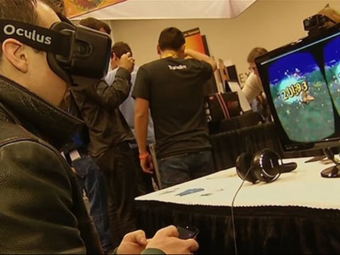 Virtual Reality Race on in Video Game Industry News Video